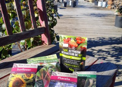 Flower Seeds & Soil Conditioner