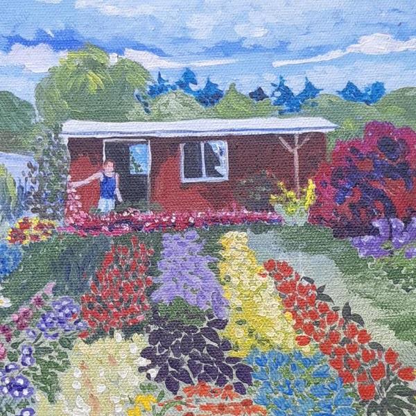 Artists in the Garden